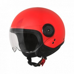 Casco Origine Neon Easy Matt Fluo Red