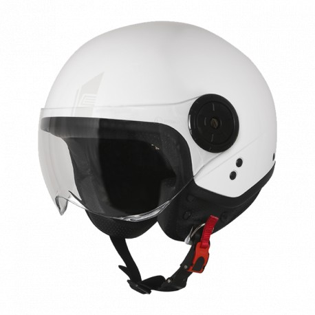 Casco Origine Neon Easy Gloss White