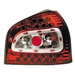 CP.FARI POST PERFORMANCE-LED AUDI A3 9/96-4/03 ROSSO