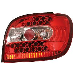 "CP.FARI POS""PERFORMANCE-LED"" TOYOTA YARIS, ROSSO 4/99-"