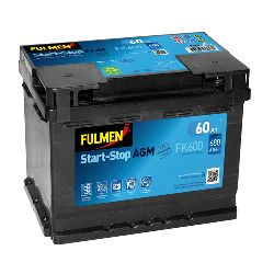 BATTERIA  60AH  680A FULMEN AGM START  STOP