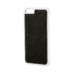 "COVER ""MAGNET-X"" PER IPHONE 6 6S - NERO SIMILPELLE"