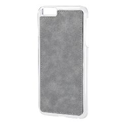 "COVER ""MAGNET-X"" PER IPHONE 6 PLUS/6S PLUS - GRIGIO SIMILPELLE"