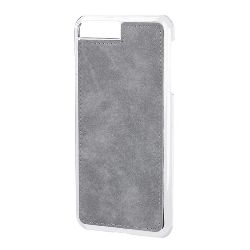 "COVER ""MAGNET-X"" IPHONE 7 PLUS / 8 PLUS - GRIGIO SIMILPELLE"