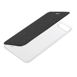 "COVER ""CLEAR BACK"" IPHONE 7 PLUS / 8 PLUS - NERO"