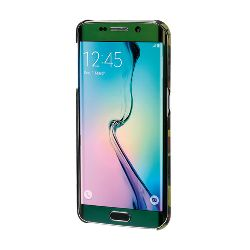 "COVER ""STYLISH"" SAMSUNG GALAXY S6 EDGE VERDE CAMOU."