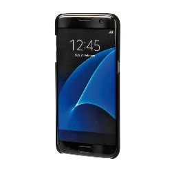 "COVER ""STYLISH"" SAMSUNG GALAXY S7 EDGE BLACK"