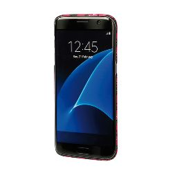 "COVER ""STYLISH"" SAMSUNG GALAXY S7 EDGE ROSA CAMOU."